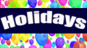 holidays learn about holidays for children youtube