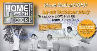 home design expo home design decor furnishing fair at singapore expo from 14