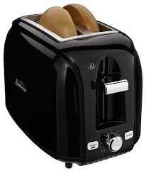 Two Slice Toaster Reviews Sunbeam 2 Slice Extra Wide Slot Black Toaster