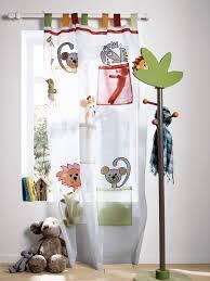 rideau chambre b b jungle rideau organdi animaux thème l as tu vu chambre bébé