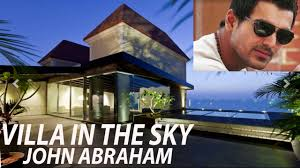 villa in the sky john abraham u0027s inside photos of lavish duplex villa in the sky