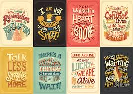hand lettered posters out of lyrics from hamilton songs by risa
