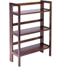 Folding Bookshelves - bookshelves a frame book shelf media storage rack