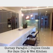 penang gurney paragon duplex condo for sale dry kitchen