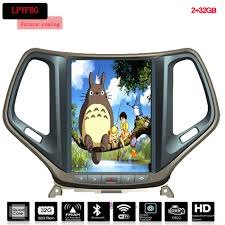 jeep cherokee cartoon vertical screen android car dvd player for jeep grand cherokee