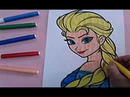 frozen colouring pages color elsa coloring pages