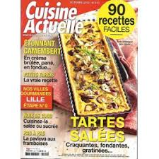 magazine cuisine actuelle revue cuisine actuelle