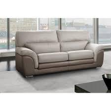 canape cuir vachette canapé fixe confortable design au meilleur prix cloé canapé