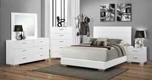 Coaster Furniture Bedroom Sets by Coaster Felicity Bedroom Set White 203501 Bed Set At Homelement Com