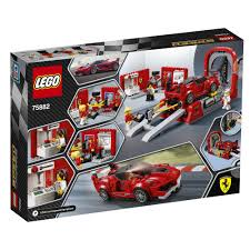 lego ferrari speed champions lego speed champions ferrari fxx k u0026 development center 75882