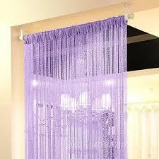 amazon com kisstaker glitter tassel string line door window