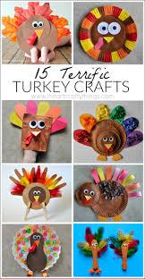 15 terrific turkey crafts for turkey craft thanksgiving