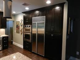 espresso kitchen cabinet beautiful espresso kitchen cabinet design feat simple ceiling