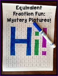 equivalent fractions centers and activities a fun unit to build