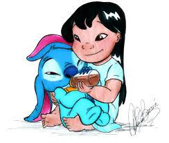 lilo feeding stitch sooo cute sooo cute