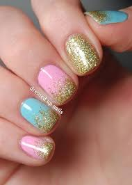 best 10 pink blue nails ideas on pinterest glitter nails