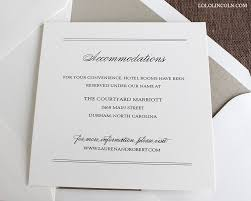 Accommodation Cards For Wedding Invitations Preppy Monogram Wedding Invitations Wedding Invitations By Lolo