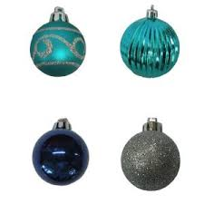 christmas tree decorating ideas turquoise blue u0026 bronze