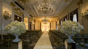 Deco De Table New York Nyc Wedding Venues New York Weddings The St Regis New York