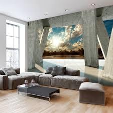 Fototapete Schlafzimmer Blau Fototapete Wohnzimmer Natur Olegoff Com