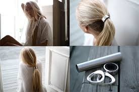 hair ring the undies diy dries hair
