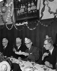 football club christmas parties from the past daily mail online