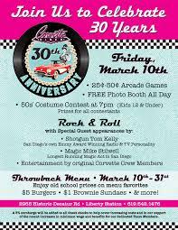 corvette diner menu prices corvette diner celebrates 30th anniversary cohn restaurant
