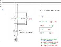 reversing a 3 phase asynchronous motor using limit switches