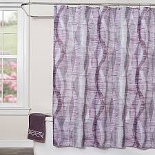 sketchbook waves fabric shower curtain bed bath u0026 beyond