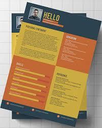 Unique Resumes Templates Free Creative Resume Templates Free Download Creative Resume Template