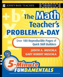 wiley the math teacher u0027s problem a day grades 4 8 over 180