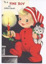 163 best waiting for santa vintage christmas cards images on