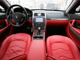 maserati ghibli red interior maserati quattroporte sport gt s 2010 picture 10 of 11