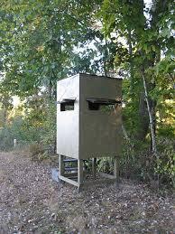 Box Blind Plans Poor Man U0027s Hunting Box Blind Shooting House Build Plans Deer