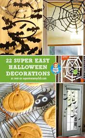 homemade halloween decorations for party fun homemade halloween decorations 6010