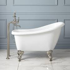 innovative 48 inch clawfoot tub 48 cambria cast iron roll top awesome 48 inch clawfoot tub 43 carter mini acrylic clawfoot tub bathroom