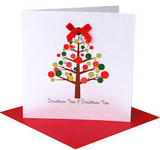 childrens christmas card christmas lights decoration