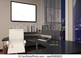 cadre photo bureau cadre bureau vide image haut moniteur bureau cadre clip