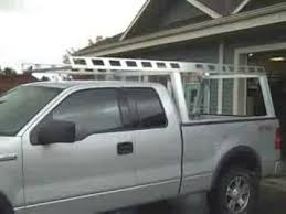 toyota tundra ladder rack system one truck racks ladder contractor rig rack