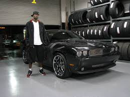 Dodge Challenger With Rims - anthony morrow of the warriors with his challenger celebrity carz