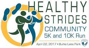 healthy strides community 10k 5k run fairfax county virginia