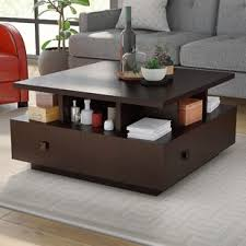 Square Living Room Tables Square Coffee Tables You Ll Wayfair