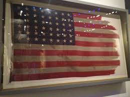 Marines Holding Flag The Original Iwo Jima Flag That Flew Atop Mt Suribachi It Was