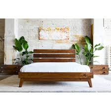 Mid Century Beds Mid Century Modern Bed Frame Bedroom Furniture