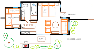 the gardens floor plan self catering in hermanus the garden cottage eastbury cottage