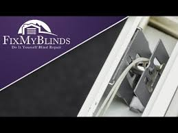 How To Fix Mini Blinds How To Replace A Cord Lock In A Mini Blind Youtube