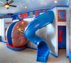 jason hulfish design studio are you ready for some football this unique playroom is equipped with a large spiral