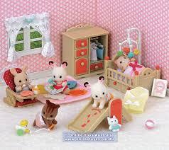 Sylvanian Families Babys Room Set SF  Online Toys Australia - Sylvanian families luxury living room set