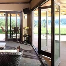 Folding Exterior Door Exterior Bifold Doors Exterior Doors 5 Best Folding Patio Doors