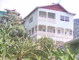 house for sale in soufriere with panoramic views of pitons